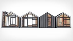 The Bunkie is a preassembled tiny home space that is 106 square feet and requires no building permit. Building Design, Building A House, Building Permit, Cottage Kits, Cottage Ideas, Second Mortgage, Interior Design Shows, Led Recessed Lighting, Built In Furniture