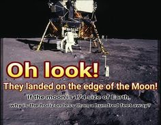 Ever look upwards toward an object that is near the crest of a hill even a small one or drive behind another car along a rolling highway? It's all about the angle of view and perspective. Flat Earth Proof, Nasa Lies, Earth Memes, Question Everything, Moon Landing, Conspiracy Theories, The Real World, History Facts, Critical Thinking