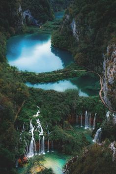 - The national parks of Croatia are some of the most magical places I have ever visited, endless parks of lakes and waterfalls Wonderful Places, Beautiful Places, Green Photo, Nature Pictures, Beautiful World, Wonders Of The World, Travel Photos, Travel Ideas, Places To Travel