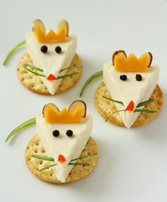 Mouse King Cheese Bites from The Nutcracker