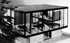Philip Johnson, John L. Senior Jr. House, 1950-1951