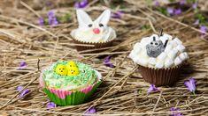 Kata pääsiäisen kahvipöytään juhlaan sopivia kuppikakkuja! Pääsiäismuffinit tuunataan ja koristellaan luovasti, ja niistä nauttivat niin lapset kuin aikuisetkin