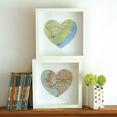 Maps: home is where the heart is...