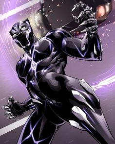 Black Panther looking icy by on DeviantArt Black Panther King, Black Panther Marvel, Marvel Comics Art, Marvel Heroes, Avengers Comics, Wakanda Marvel, Black Panther Chadwick Boseman, Marvel Universe, Avengers Quotes