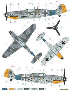 Bf 109G-6 JG 54 Color Profile Added