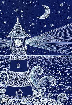 маяк рисунок - Поиск в Google