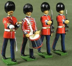 Giant toy soldiers...
