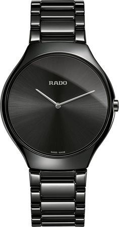 Rado Watch True Thinline Mens #add-content #bezel-fixed #bracelet-strap-ceramic #brand-rado #case-depth-4-9mm #case-material-ceramic #case-width-39mm #delivery-timescale-call-us #dial-colour-black #discount-code-allow #luxury #movement-quartz-battery #new-product-yes #official-stockist-for-rado-watches #packaging-rado-watch-packaging #style-dress #subcat-true-thinlinemale #supplier-model-no-r27741182 #warranty-rado-official-2-year-guarantee #water-resistant-30m