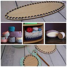 Wood base set of 3 Wooden bottoms Crochet basket Handmade Basket Storage Mother's day gift Tshirt Yarn Basket Wooden Basket Bases DIY - knittings yarn Crochet Yarn, Knitting Yarn, Yarn Organization, Diy Yarn Storage Ideas, Wooden Basket, Felt Bows, T Shirt Yarn, Etsy Shipping, Storage Baskets