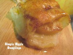 The Better Baker: Simple Apple Dumplings {Family Favorite}