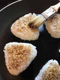 Yaki Onigiri, Asian Recipes, Healthy Recipes, Healthy Food, Menu, Sans Gluten, Vegan Lifestyle, Japanese Food, I Foods