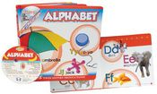 Sing...Play...Learn! Alphabet!      Twelve fun songs teach the alphabet and their sounds! Colorful photographs introduce young learners to the alphabet--including both uppercase and lowercase letters! BONUS! Includes 25 activities to print from your own computer!  $8.99
