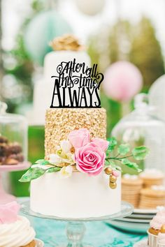 Harry Potter Inspired Cake Topper - After All This Time Always Cake Topper