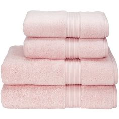 Supreme Hygro US Bath Towel Color: Pink (51 CAD) ❤ liked on Polyvore featuring home, bed & bath, bath, bath towels, house, pink bath towels, christy bath towels and colored bath towels
