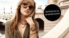 Nye ure fra Michael Kors på webshoppen.