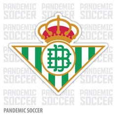 Real Betis Spain Sevilla Vinyl Sticker Decal Pegatina Liverpool Fc, E Bay, Adhesive Vinyl, Spain, Decals, Soccer, Stickers, Color Print, Photoshop