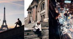 Na Instagrame sa ľudia radi chvália krásnymi zábermi svetoznámych lokalít (Foto: Instagram) Louvre, Street View, Building, Travel, Instagram, Viajes, Buildings, Destinations, Traveling