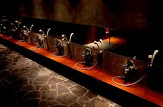 The Vale Niseko - onsen showerheads