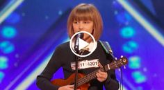 12-year old Grace VanderWaal shocked 'America's Got Talent' when she nailed an original tune after admitting that her friends didn't even know she could sing.