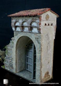 Lola Simon's Sceneries. : DETALLES ARQUITECTÓNICOS Medieval Life, Market Stalls, City Illustration, Miniature Houses, Model Building, Little Houses, Bird Houses, Decoration, Cribs