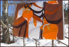 Vintage Tampella fabric Liliana design by Marjatta Metsovaara