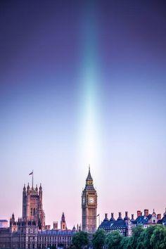 The aura of Big Ben - London
