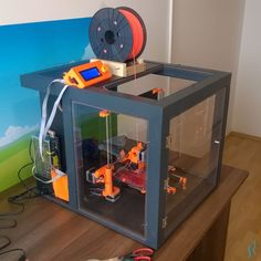 How I built my DIY printer enclosure with tips and ideas how to build yours. Goes through the whole process from measure and design to build and finish. See how you could get a very nice electronic accessories for your gadgets. 3d Printing Machine, 3d Printing Diy, 3d Printing Business, 3d Printing Service, Cnc Machine, 3d Printer Designs, 3d Printer Projects, Diy 3d Drucker, Mode 3d