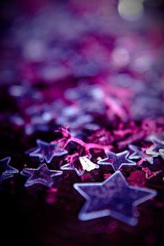 Purple:  A little stardust caught...