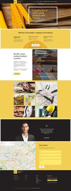 Construction Company Responsive Moto CMS 3 Template #58617 http://www.templatemonster.com/moto-cms-3-templates/construction-company-responsive-moto-cms-3-template-58617.html
