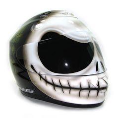 Nightmare Before Christmas Jack Skellington | ... Helmet Gallery - Jack…