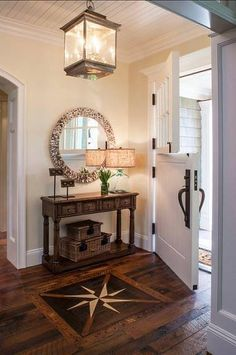 What do you think about this entry? via zillow #entryways #foyers #Flooring