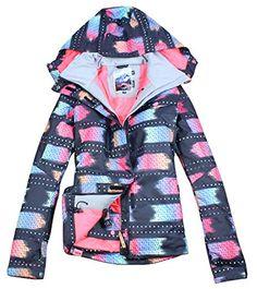 b525ecc455 APTRO Women s Windproof Sports Floral Trousers or Ski Jacket