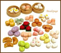 DIMSUM / ASIA PASTRY Pick your selection upon check-out:  A) 1 empty tray. B) 10 dimsum + 1 tray = assorted designs, randomly shipped.    Measurements: