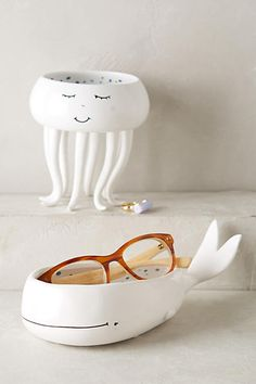 Undersea Trinket Dish: Whale or Octopus