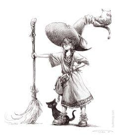 180 Ideas De Brujas Y Calaveras Brujas Ilustraciones Brujas Volando