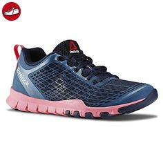 Reebok Everchill Train - navy/solar pink/white, Größe:5 - Reebok schuhe (*Partner-Link)