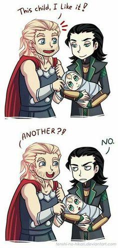 Este Thor es un loquillo (?)