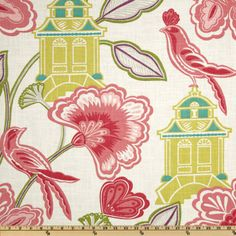 Braemore Emperors Garden Blossom Item Number: UO-453 Our Price: $24.98 per Yard