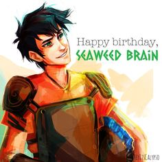 Love this art! And his bday is August 18th!