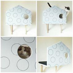 Cuccia di design a parete per gatti _ Colore di labottegadigiorgix Etsy, Vintage, Design, Craft Gifts, Vintage Comics