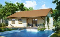 projekt Słoneczko II Portal, Tiny House, Sweet Home, Mansions, House Styles, Interior, Outdoor Decor, Design, Home Decor