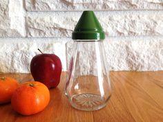 Retro Glass Sugar Shaker by LittleDixieVintage on Etsy