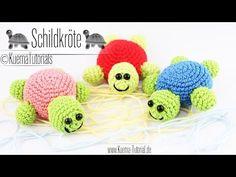 Animaux au crochet: Instructions pour la tortue amigurumi - New Ideas Crochet Cat Pattern, Free Crochet, Free Pattern, Beginner Crochet, Crochet Patterns Amigurumi, Amigurumi Doll, Knitting Patterns, Crochet Keychain, Tunisian Crochet