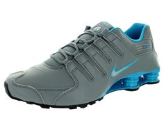 MEN'S NIKE SHOX SIZE 7 SNEAKERS BLUE LAGOON / COOL GRAY NEW  #NIKE #AthleticSneakers
