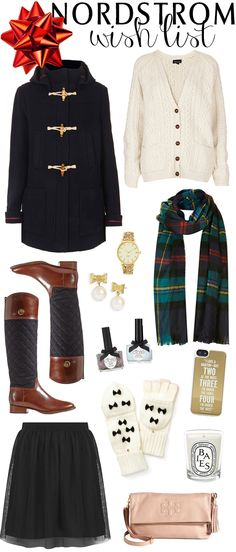 Anything on this list is fair game for something I would like! <3 Nordstrom Christmas Wish List