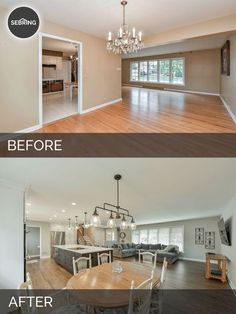 Before & After Kitchen Elmhurst - Sebring Design BuildYou can find Before and after kitchen remodel and more on our website.Before & After Kitchen Elmhurst - Sebring Design Build Living Room Kitchen, Kitchen Decor, Living Rooms, Kitchen Ideas, Kitchen Designs, Kitchen Pictures, Diy Kitchen, Decorating Kitchen, Kitchen Small
