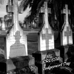 Judgement Day by Phil Crossie, released 14 June 2013 Judgement Day Roller Coaster Neon Love ZOOM Why Can't We Just Be Real My Old Guitar Move On Vandalise Love Your World Blind Faith Black and White Blind Faith, Roller Coaster, Good Music, Cover Art, Album, Bottle, Day, Flask, Roller Coasters