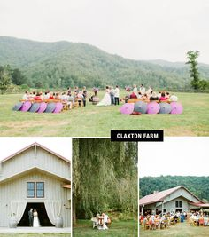 set the chairs farther apart for a wider aisle and better view of the couple for this long shot Unusual Wedding Venues, Best Wedding Venues, Wedding Locations, Wedding Trends, Wedding Blog, Wedding Stuff, Wedding Ideas, Places To Get Married, When I Get Married
