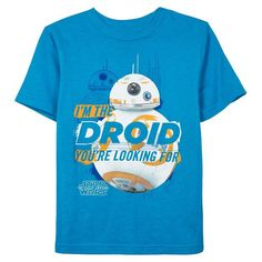 """Boys 8-20 Star Wars: Episode VII The Force Awakens BB-8 """"I'm The Droid"""" Tee, Boy's, Size:"""