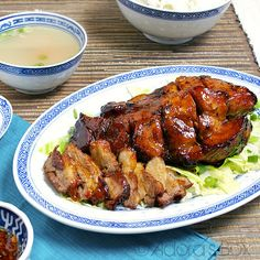 Char Sui/ Chinese roast pork...one of my favorite dishes.